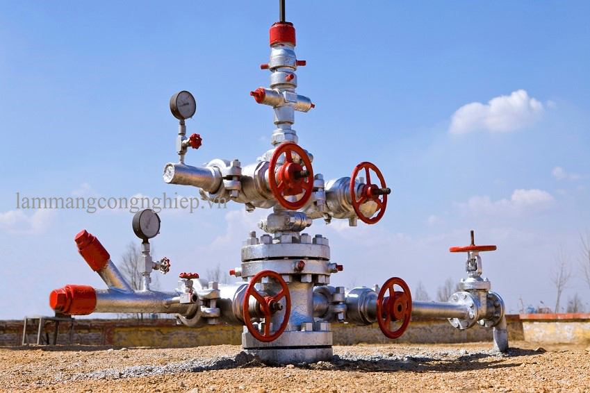 Giám sát từ xa cho trạm bơm dầu và khí gas
