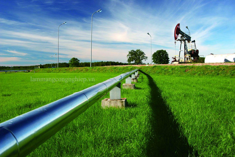 Tăng cường an ninh mạng công nghiệp cho việc giám sát đường ống dầu khí.
