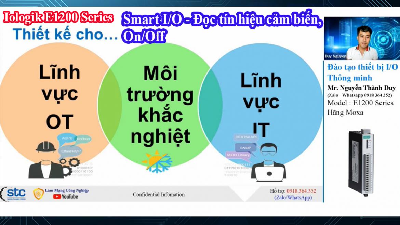 Vlog 168 | Bạn đã biết ứng dụng thiết bị Iologik E1200 Moxa Smart IO thông minh chưa? Phần 1
